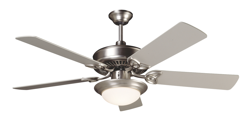 Cxl 52 ceiling fan kit with light kit in brushed satin nickel cxl 52 ceiling fan kit with light kit in brushed satin nickel aloadofball Image collections